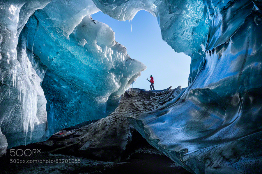 Photograph WinterCave by Marcelo Castro on 500px