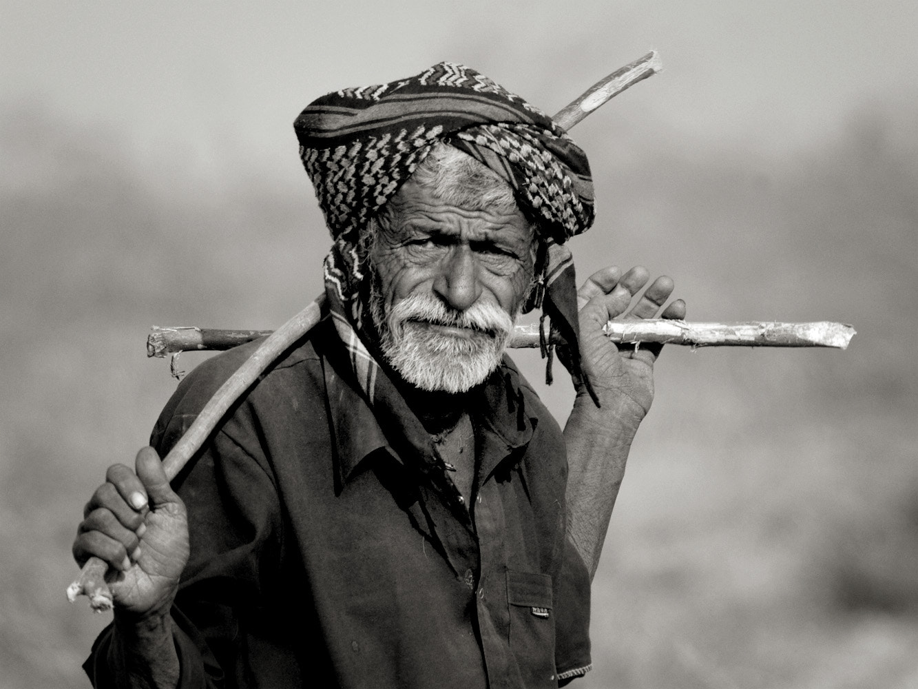 Photograph Gadiyara -the goat herder by Swati Sani on 500px