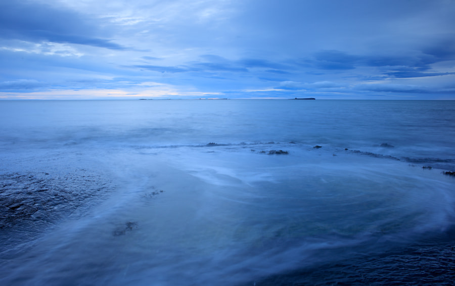 Blue Sunrise over the Farne Islands