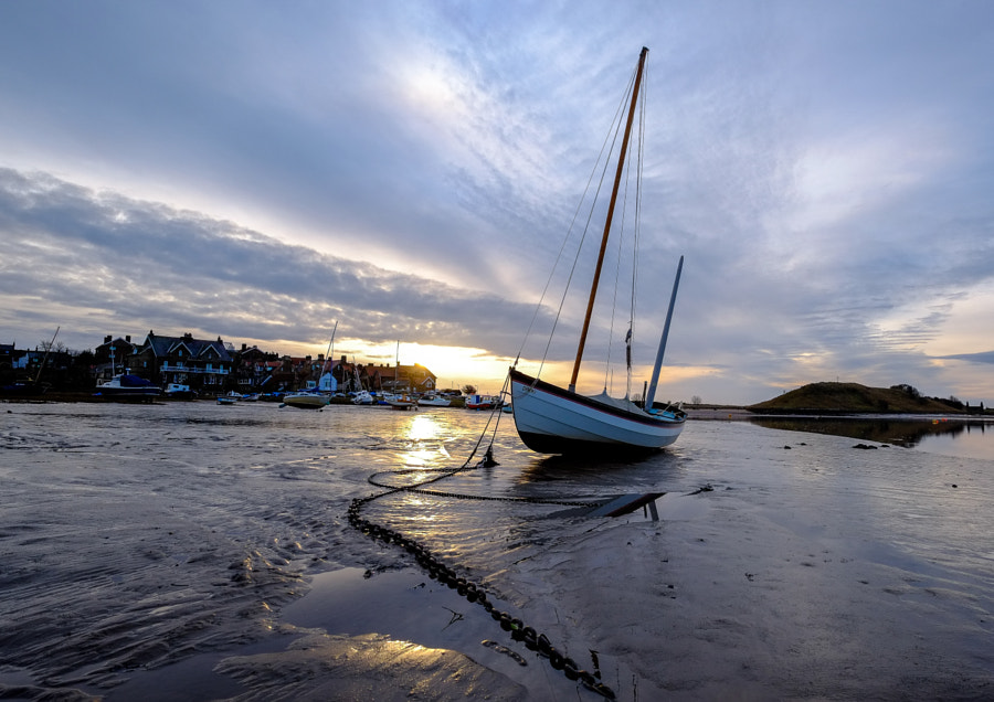 Winter Sunrise at Alnmouth