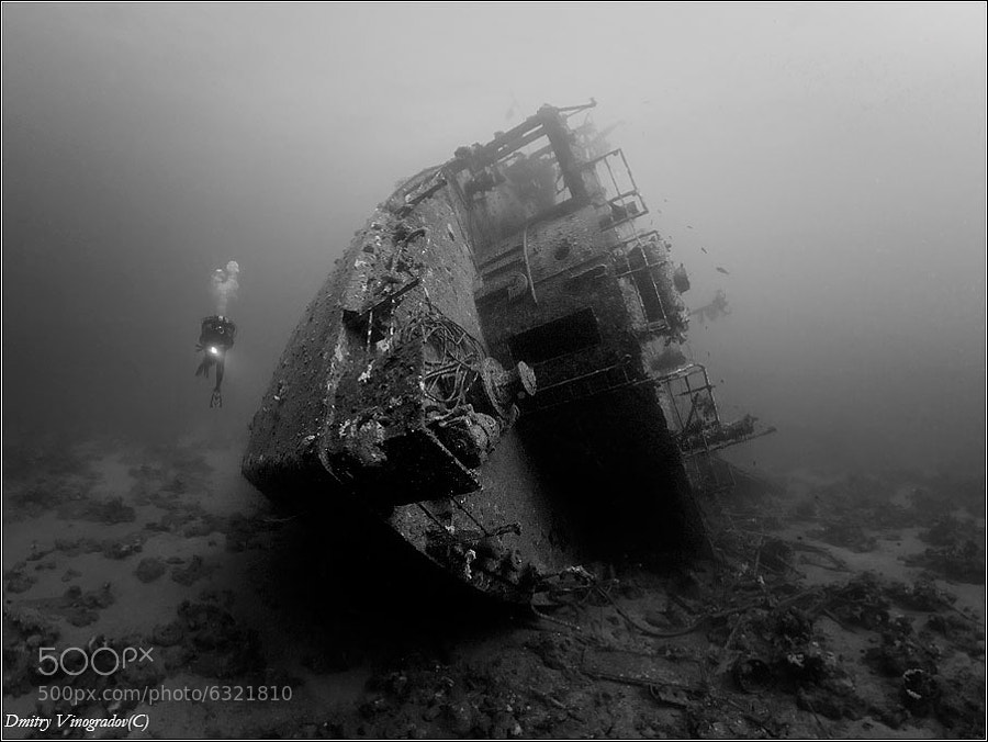 Photograph Wreck Outside. Kimon M by Dmitry Vinogradov on 500px