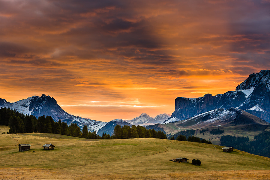 Photograph Dolomites Morning by Hans Kruse on 500px