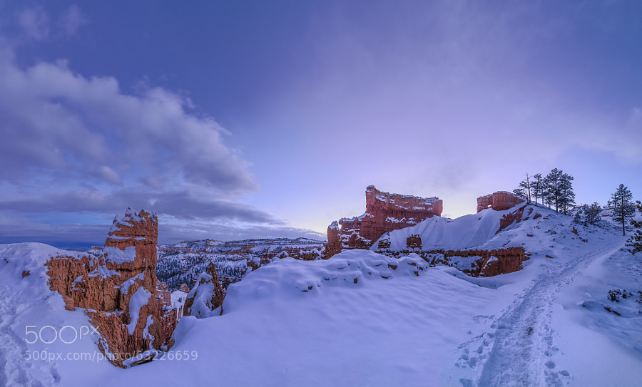 Photograph Bryce Canyon Panorama by Prajit Ravindran on 500px