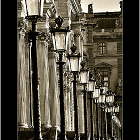 Candelabras in le Louvre by Loïc Auffray (breizciber)) on 500px.com