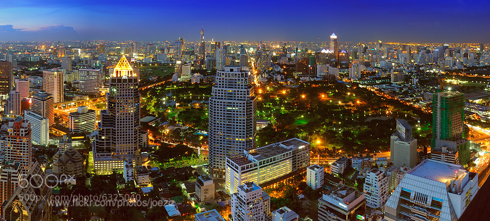 Photograph Building&Park in Bangkok by Ekkachai Pholrojpanya on 500px