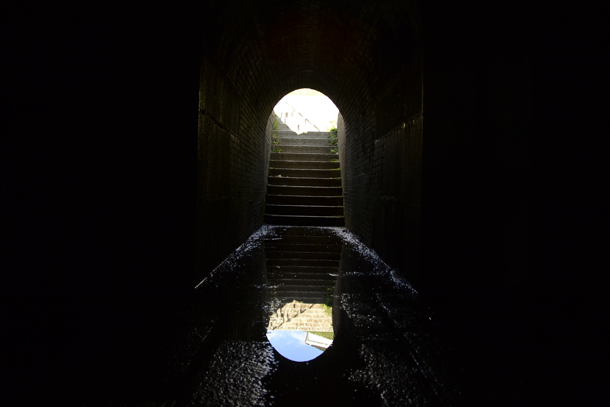 Photograph Stair Opening Reflection by Daniel Joseph on 500px