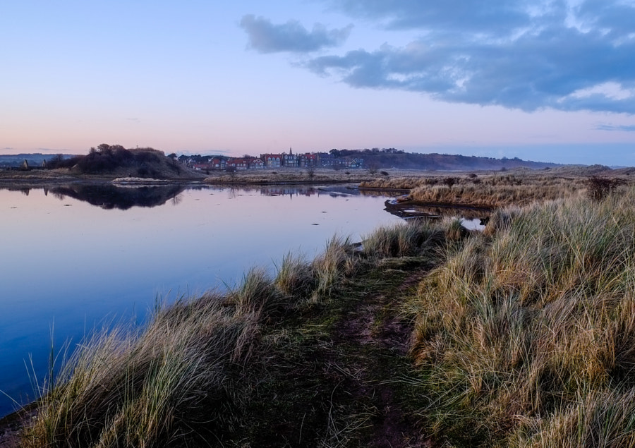 Spring Tide at Alnmouth Estuary