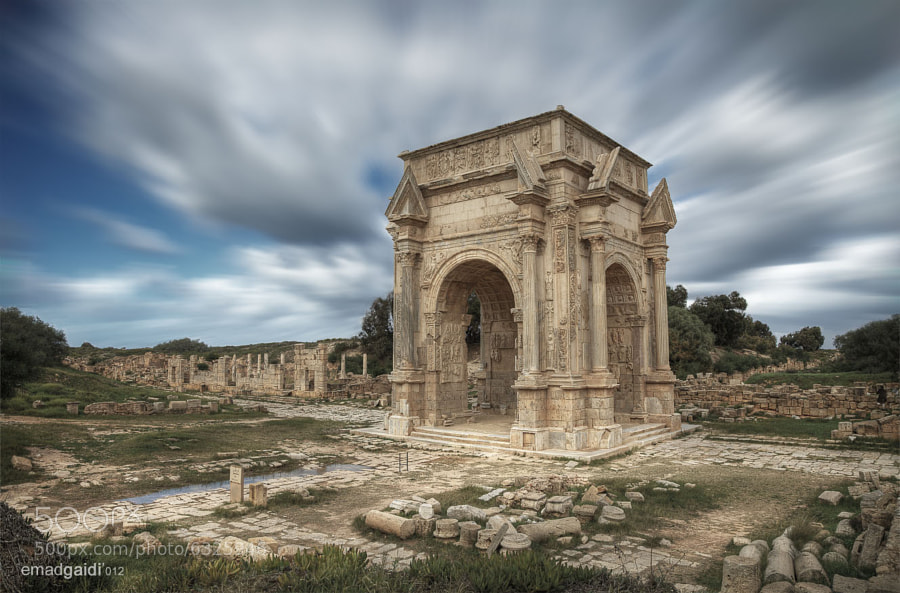 Photograph Leptis Magna, Roman Ruins in Libya. by Emad Gaidi on 500px