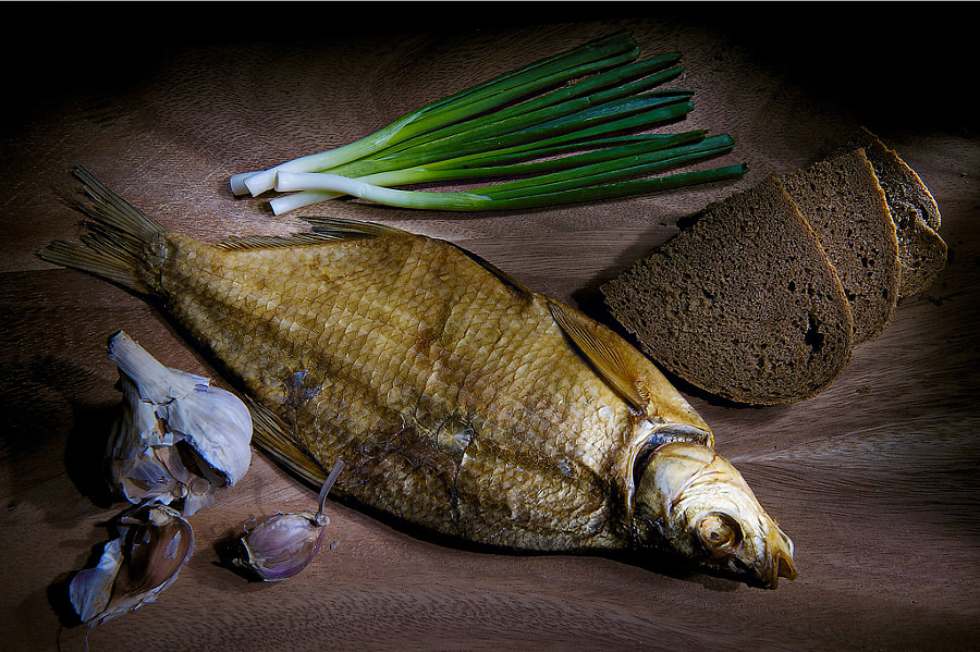 Photograph The still life with fish by Felix Felix on 500px