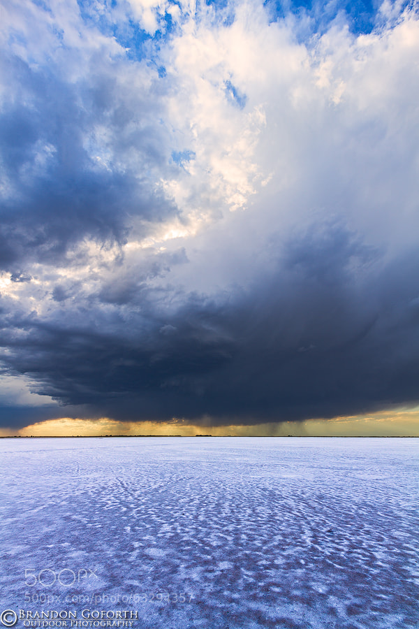Photograph Salt Plains Turbulence by Brandon Goforth on 500px