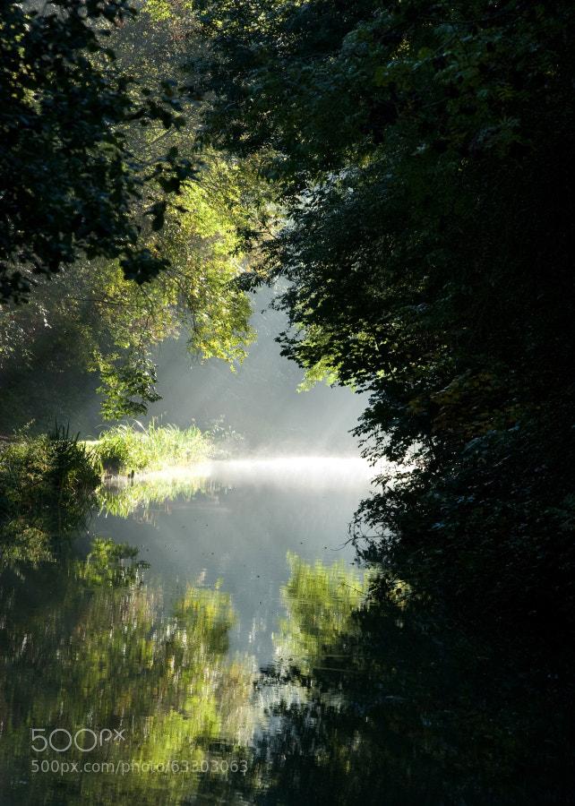 Grand Union Canal Northamptonshire,UK