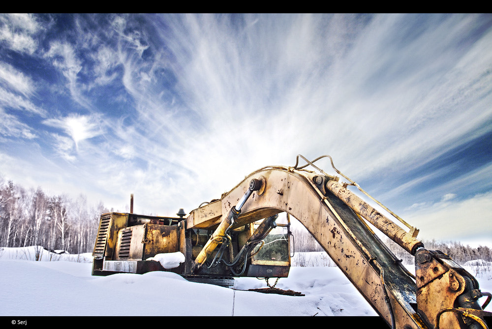 Photograph Dead excavating machine by Sergey Tikhomirov on 500px
