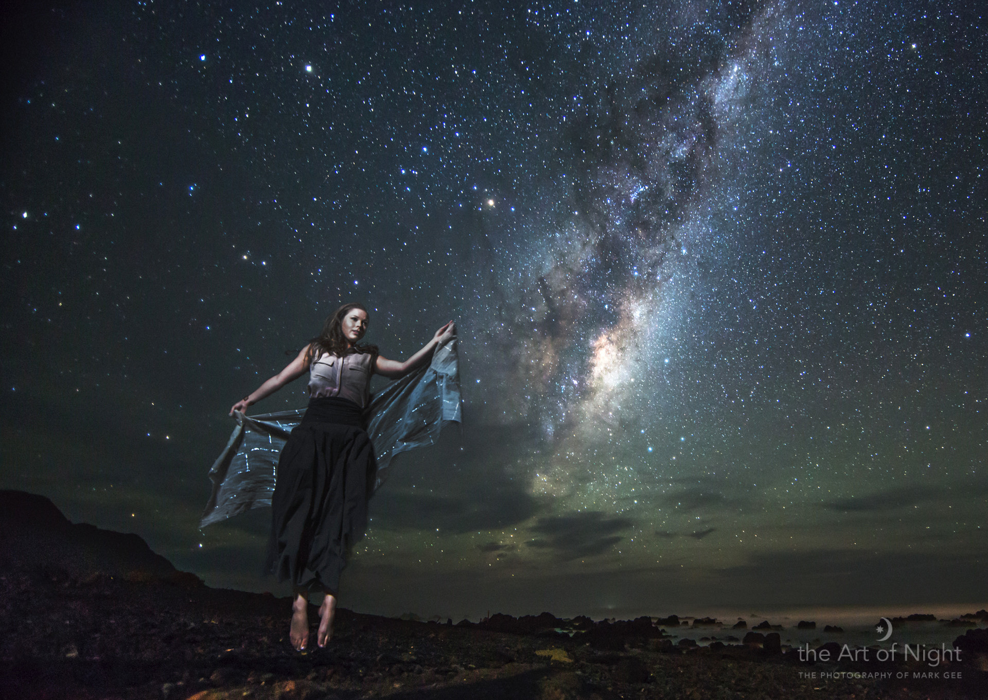 Photograph Levitation Under the Stars by Mark Gee on 500px