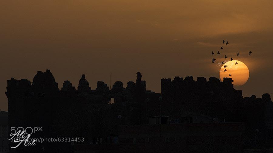 Photograph Sunset over Diyarbakir by Ali ASILI on 500px