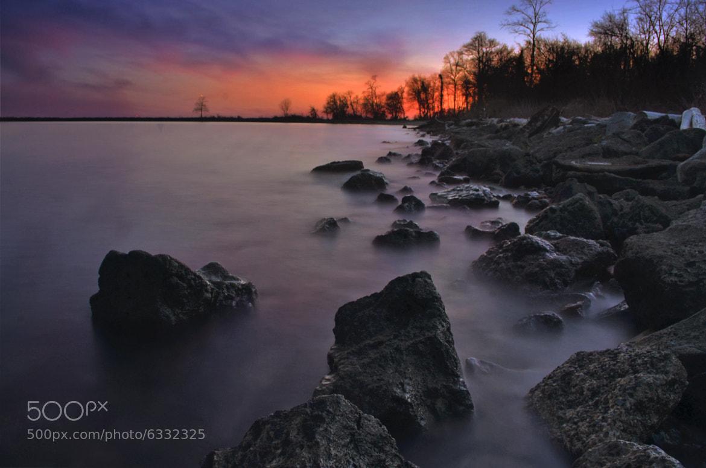 Photograph Rocky Sunset by Jeff Rose on 500px