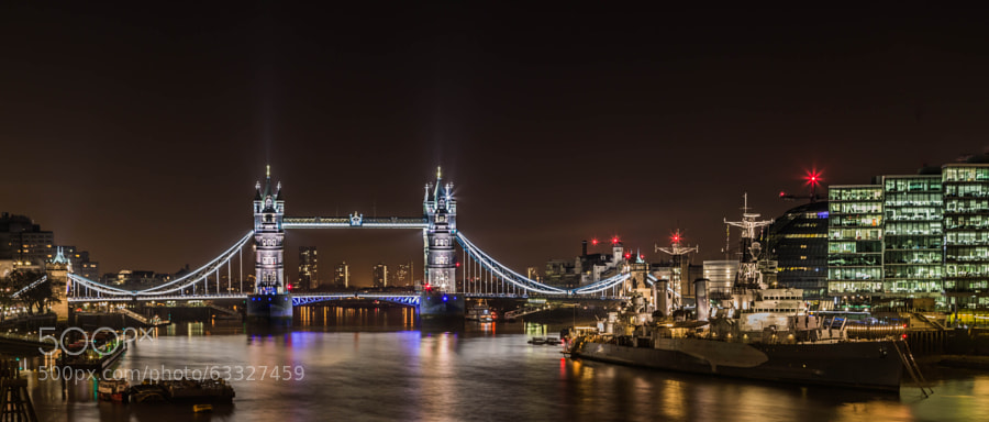 Photograph The Tower Bridge by Dolwolfian Photography on 500px