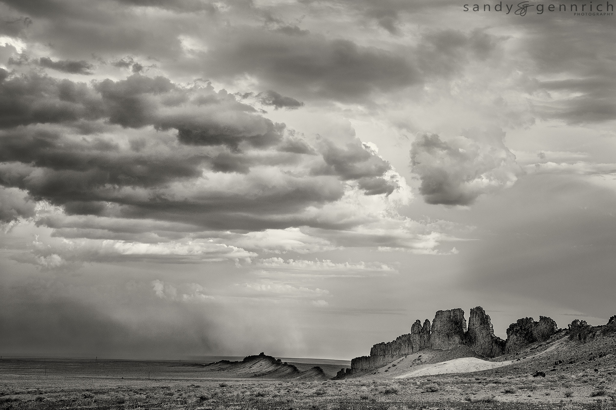 Photograph Shiprock's Spine - Farmington NM by Sandy Gennrich on 500px