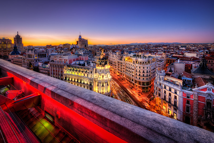 Sunset in Madrid by Gen Vagula on 500px.com