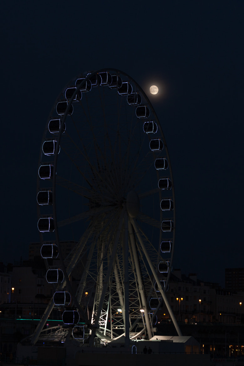 Photograph Wheel met by moonlight by David Asch on 500px