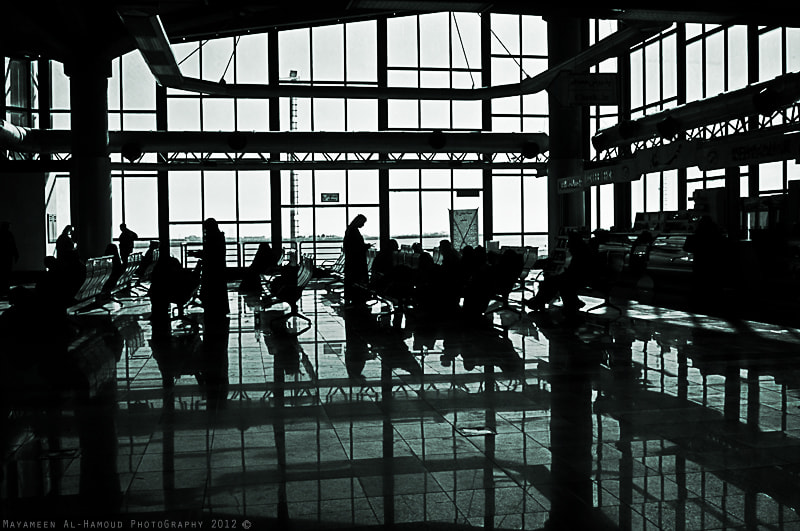 Photograph in the airport by Mayameen AlHamoud on 500px