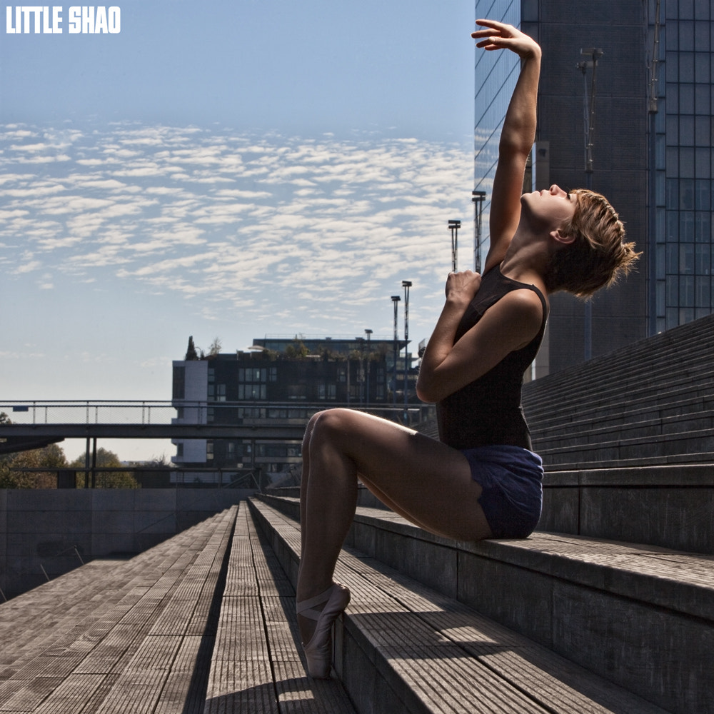 Photograph Feeling and Grace of a Street Ballerina by Little Shao on 500px