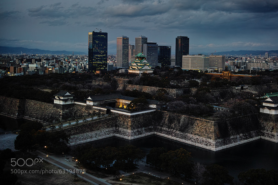 Photograph Urban Castle by Azul Obscura on 500px