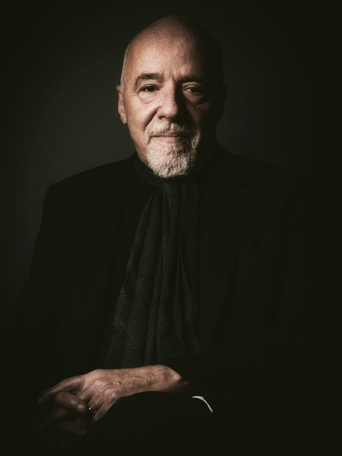 Photograph Paulo Coelho by Alex Teuscher on 500px