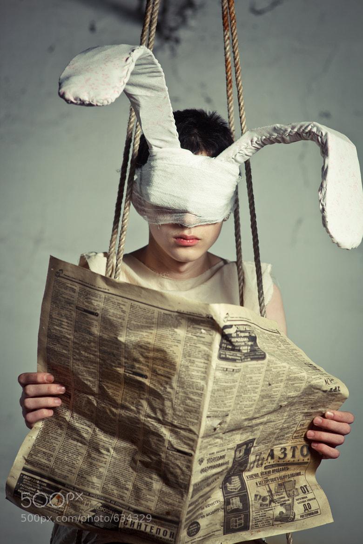Photograph Psy Rabbit by Aleksey Stepnov on 500px