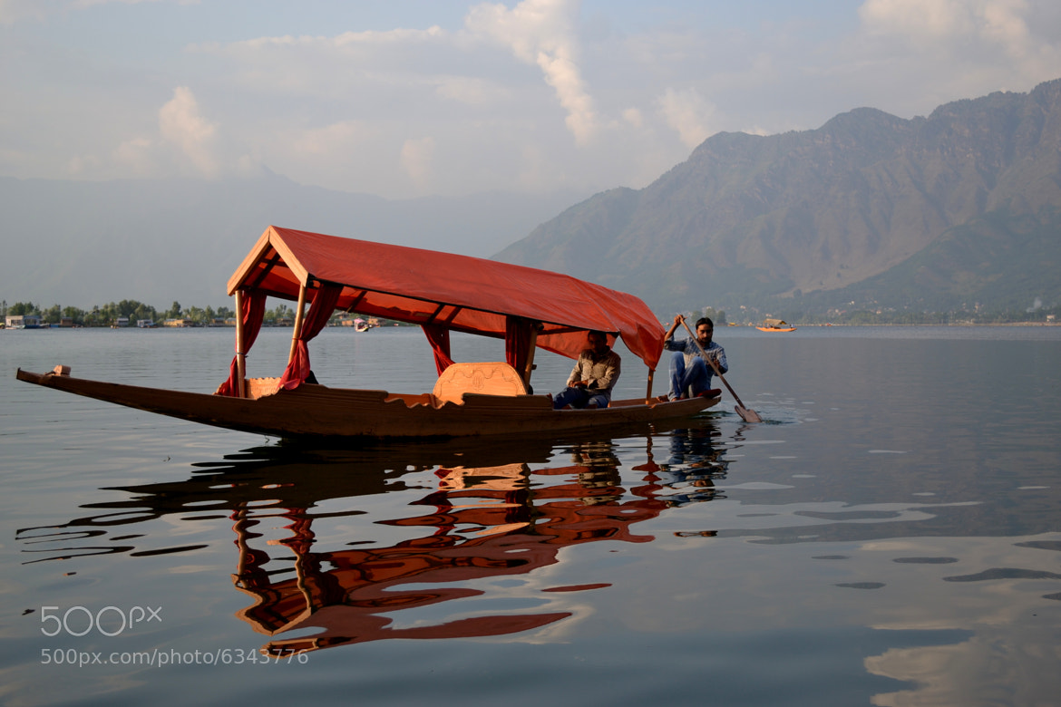 Photograph Shikara, Dal lake, Kashmir by Padmakar Kappagantula on 500px