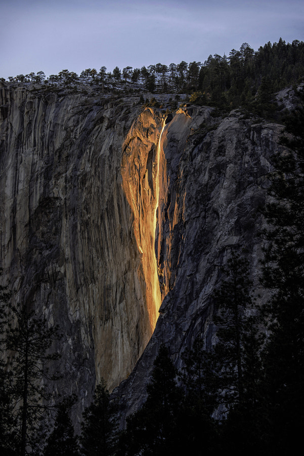 Horsetail Falls Firefall by Brent Clark on 500px.com