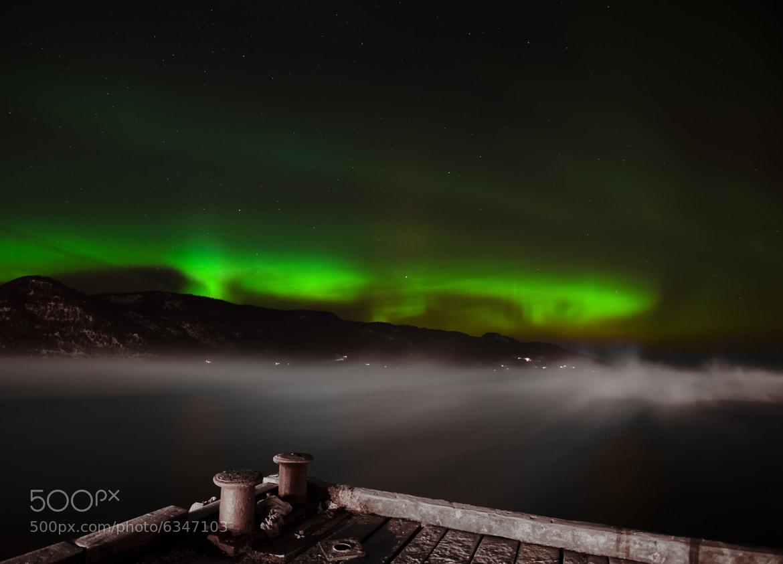 Photograph Frostsmoke and Aurora by Kolbein Svensson on 500px