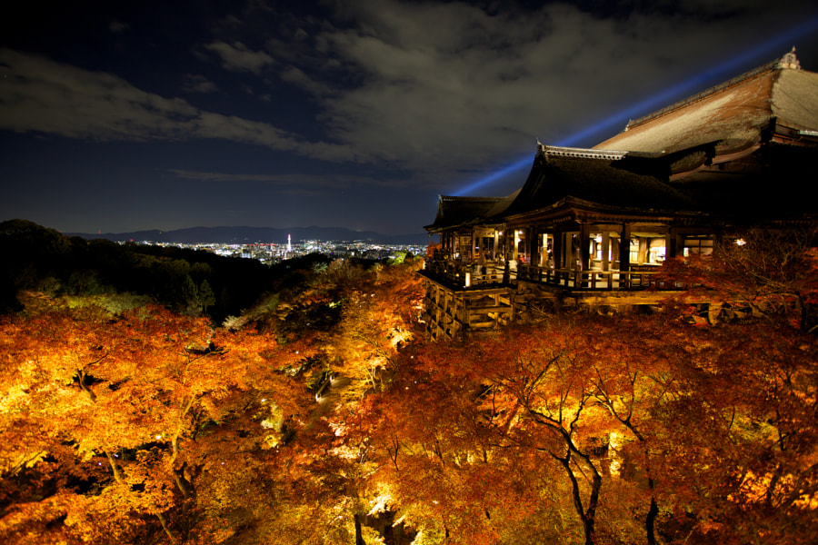 Kiyomizu-Dera Temple Kyoto by Greg Thomson on 500px.com