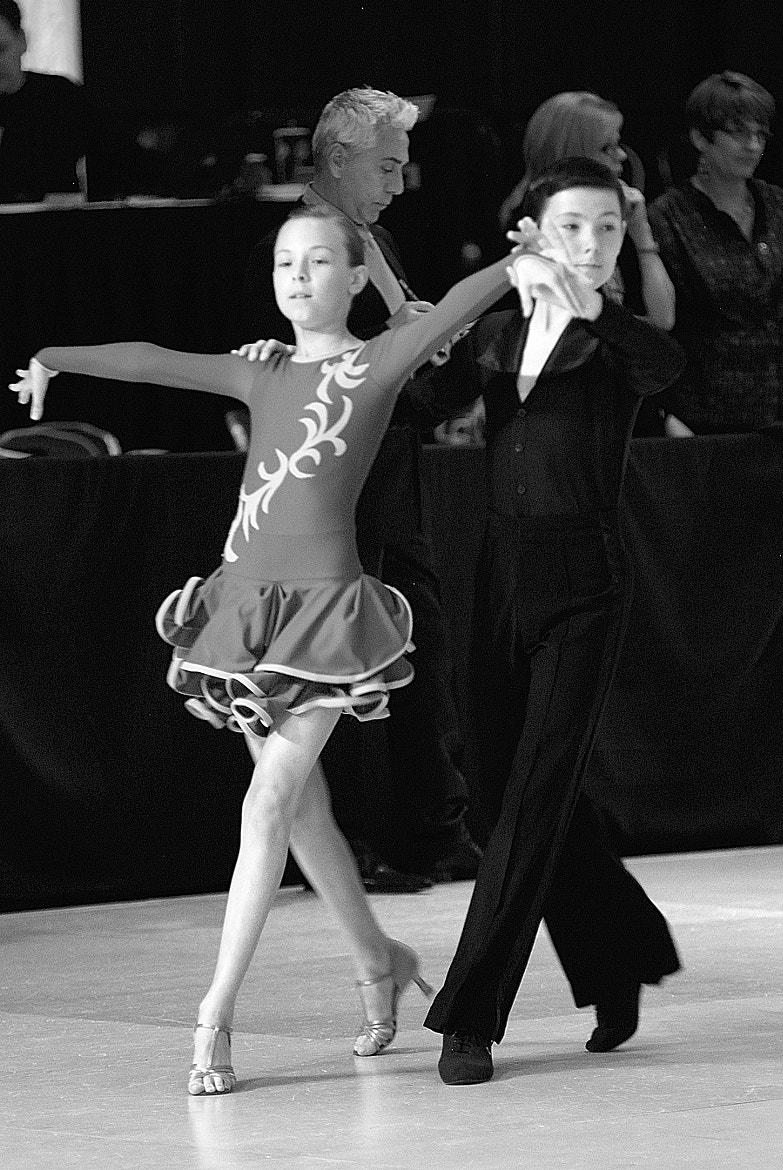 Photograph Junior Partners In Competition Mode by Ballroom Pics on 500px