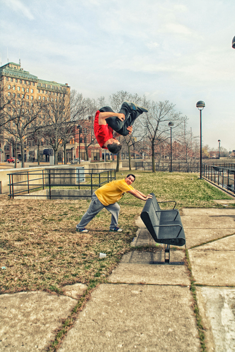 Photograph Parkour - Big Air by Jim Barclay on 500px