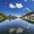 ������, ������: alpine lake