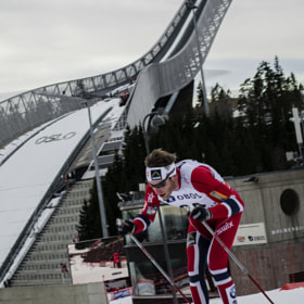 The ski jump and the norwegian