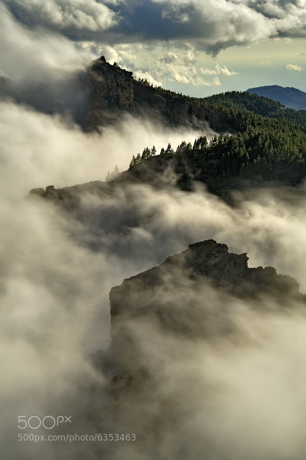 Photograph clouds by Daniel Montero on 500px