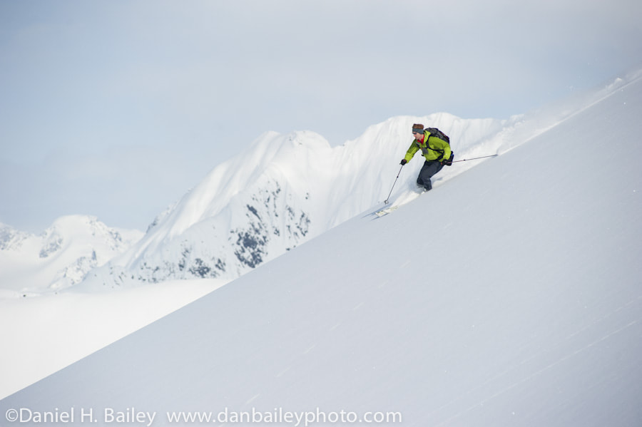 Photograph Skiing, Chugach Mountains, Alaska by Dan Bailey on 500px