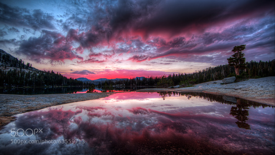 Photograph Cathedral Lakes HDR DE by Andrew Walker on 500px