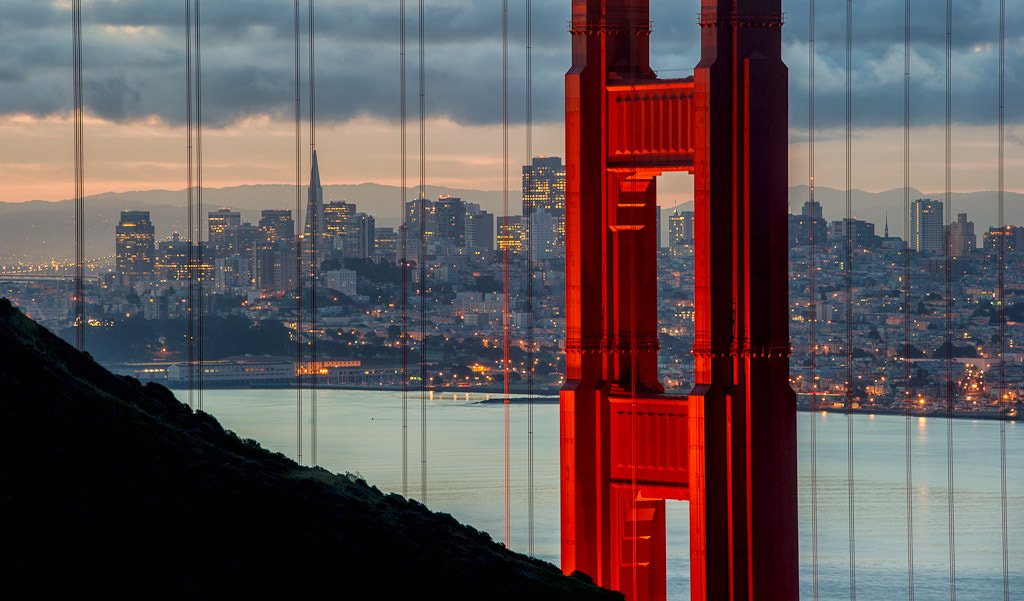 Photograph Golden Gate by Chuck Babbitt on 500px