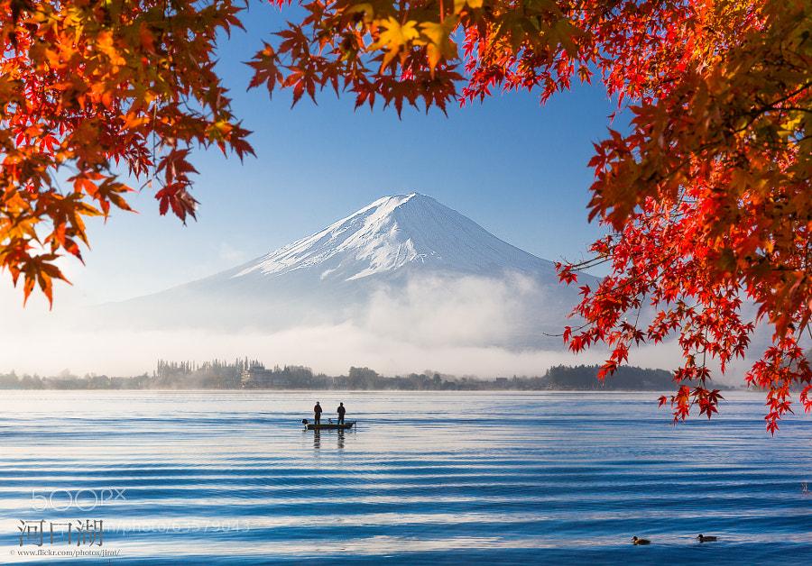 Photograph Good Morning Mt.Fuji by Jirat Srisabye on 500px