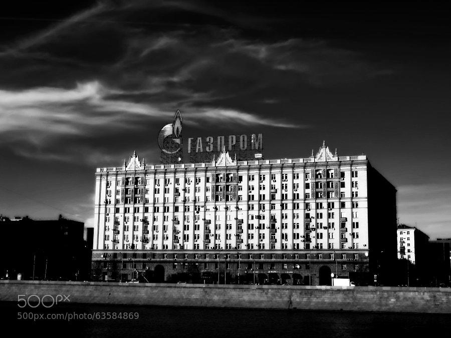 «Photograph Looking at Krasnopresnenskaya Embankment by Andrew Barkhatov on 500px»