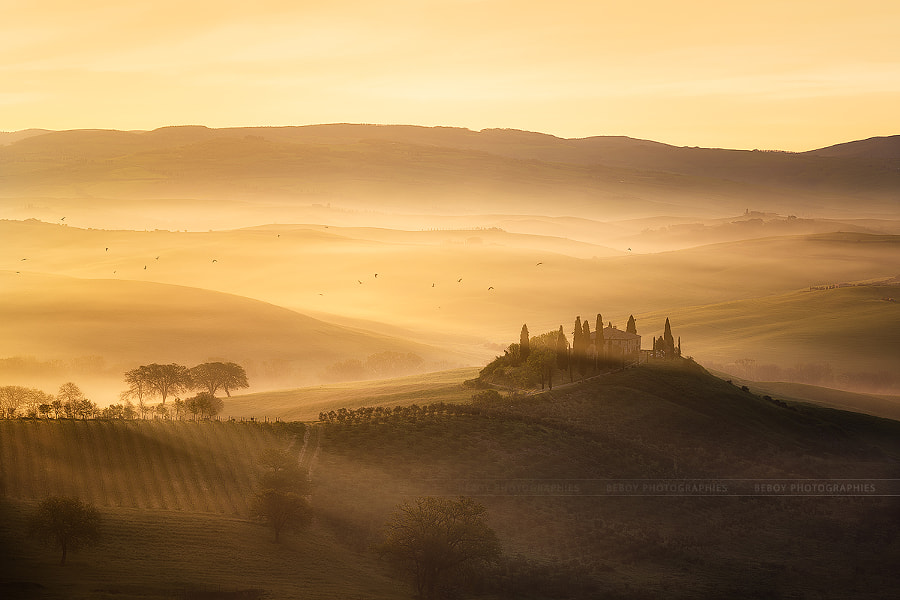 Photograph Magic Tuscany by Beboy Photographies on 500px