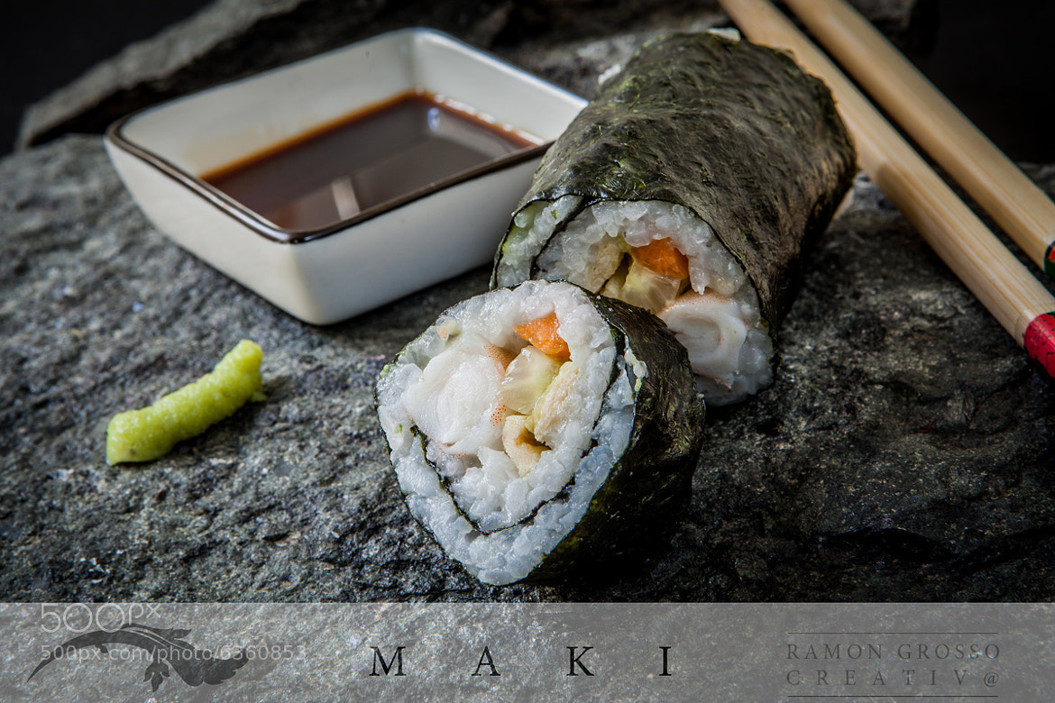 Photograph Maki Sushi by Ramon Grosso  on 500px