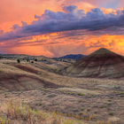 Постер, плакат: Painted Sky at Painted Hills