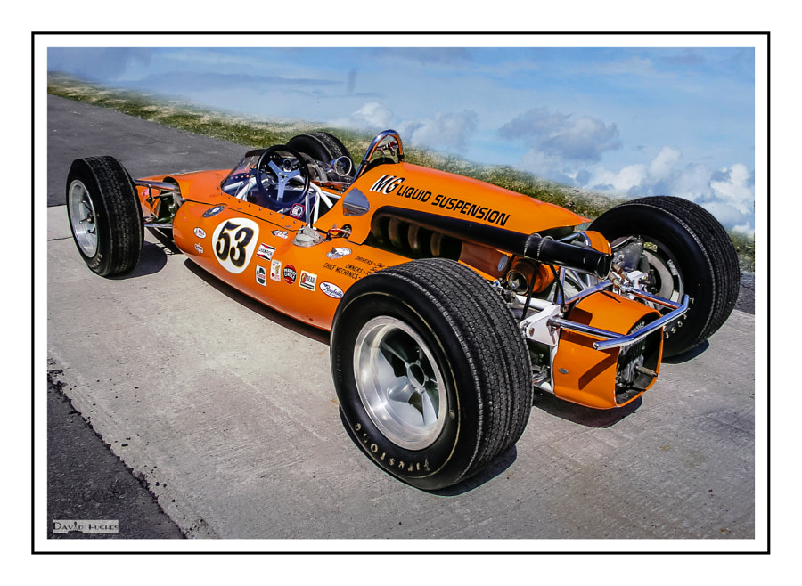 1964 MG Liquid Suspension Indy Car -1