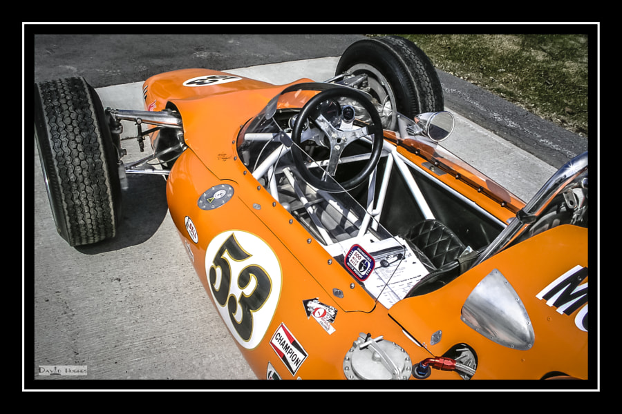 1964 MG Liquid Suspension Indy Car -2