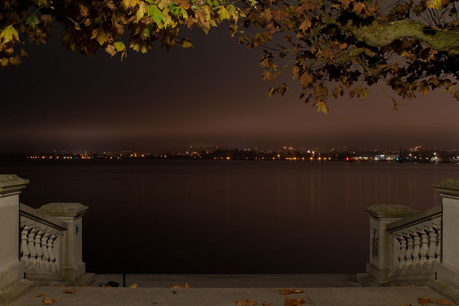 Photograph Lake Constance at night by David Witte on 500px
