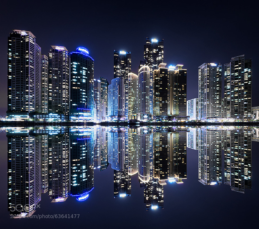 Photograph Busan city skyline by Jimmy Mcintyre on 500px