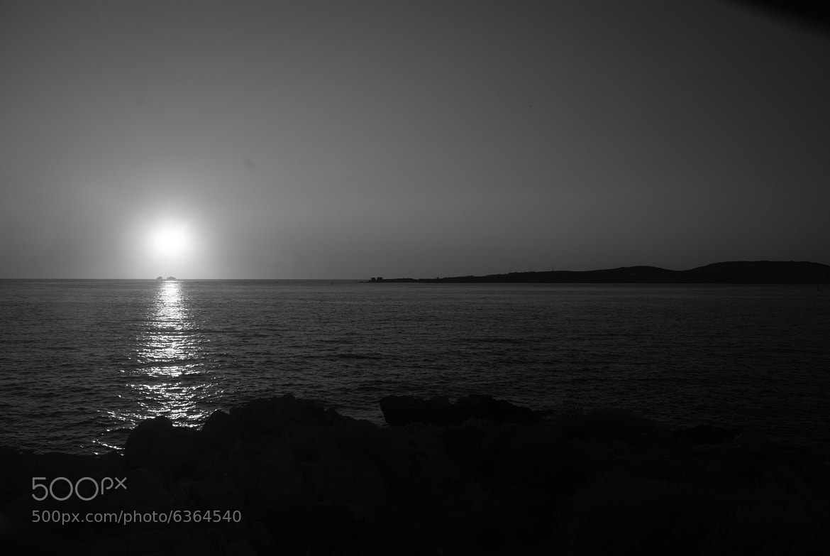 Photograph Sunset b&w by Paolo Costa on 500px